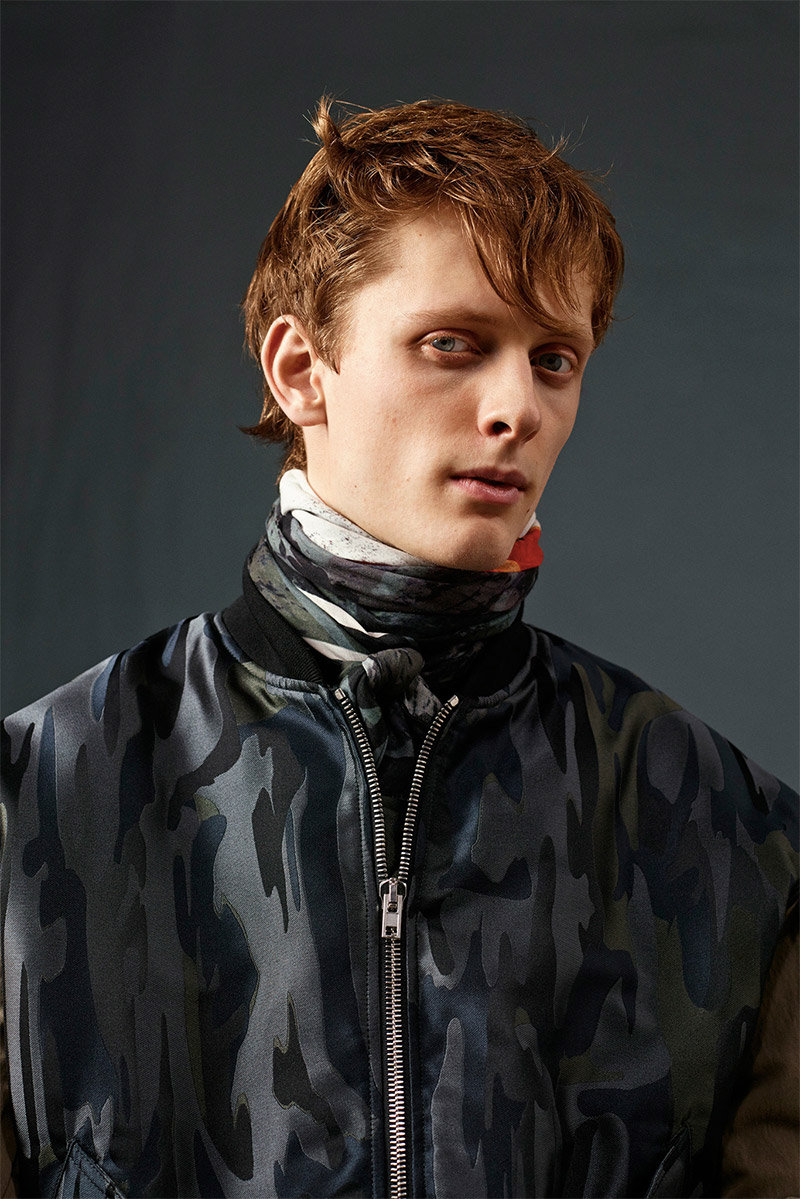 Helix Magazine, Designers | Alexander McQ Fall/Winter 2015 Lookbook