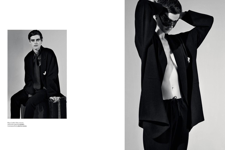 Pretty Tough Magazine, Stylist  James Valerie