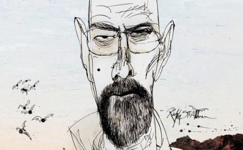 Weirdo mag. Magazine illustrators RALF STEADMAN