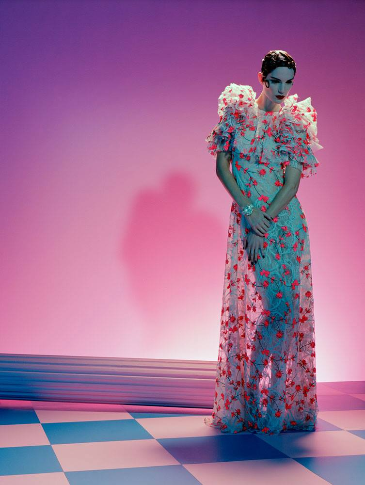 Almighty Magazine, Models IRIS STRUBEGGER
