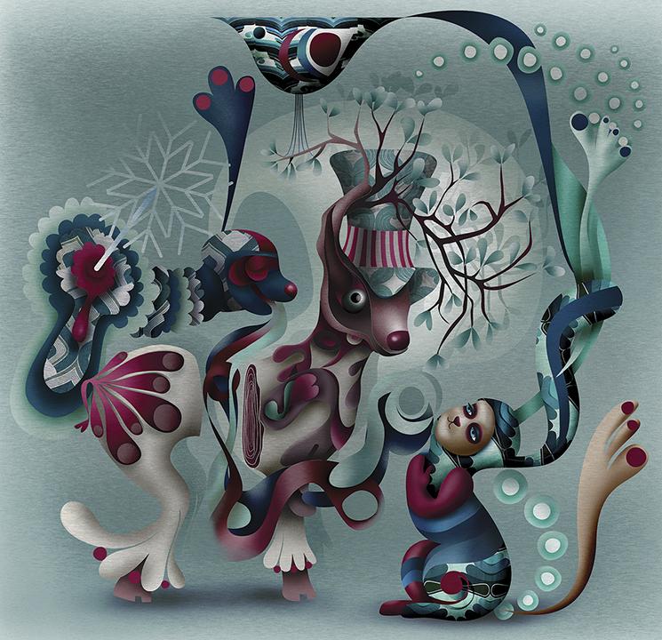 Grimoire-C Magazine, illustrators ROYA HAMBURGER -11