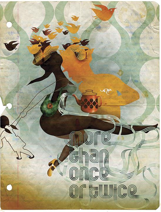Grimoire-C Magazine, illustrators ROYA HAMBURGER -15
