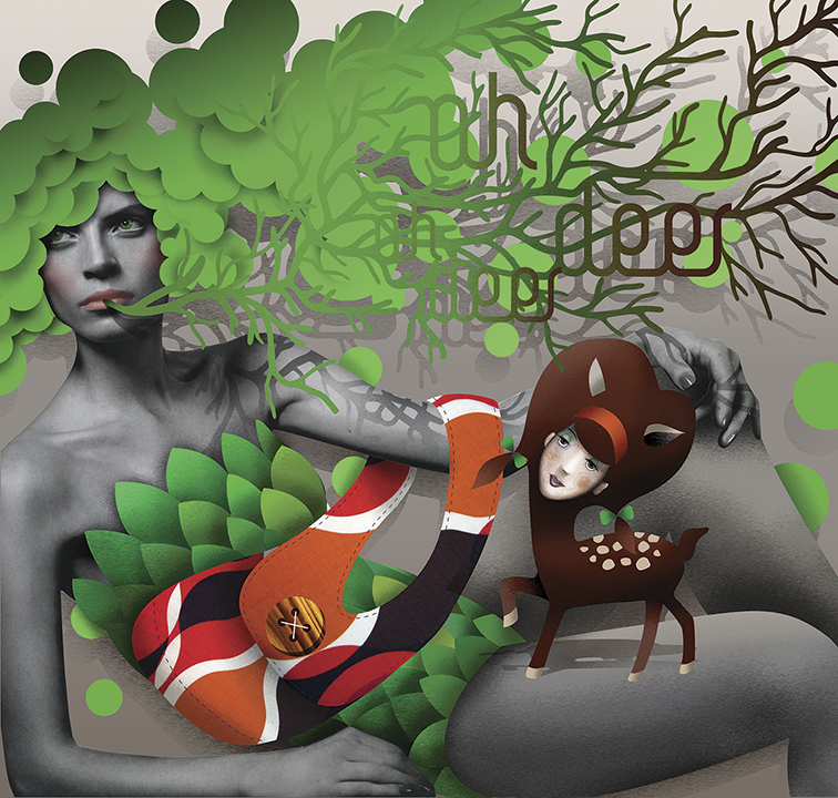 Grimoire-C Magazine, illustrators ROYA HAMBURGER -4
