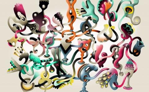 Grimoire-C Magazine, illustrators ROYA HAMBURGER